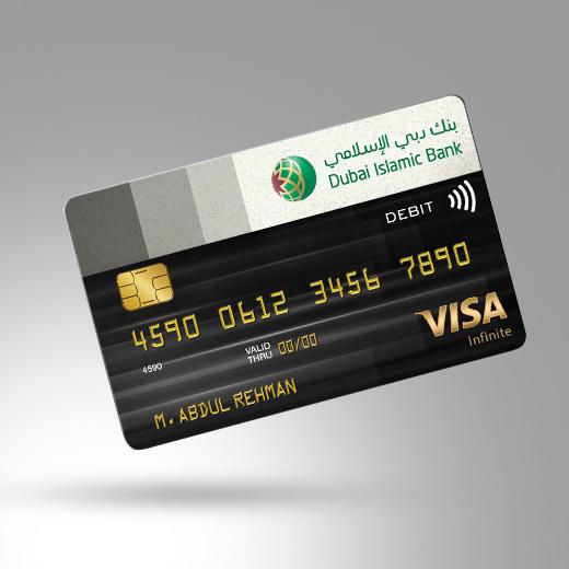 Infinite Debit Card   Cards   Dubai Islamic Bank