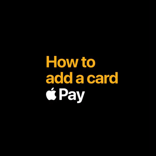 how to add a card apple pay black