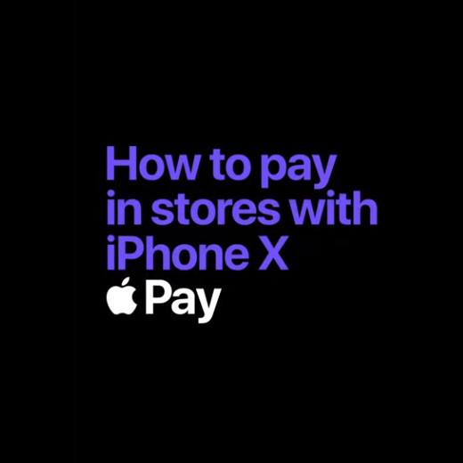 how to pay in store using face id iphonex apple pay black